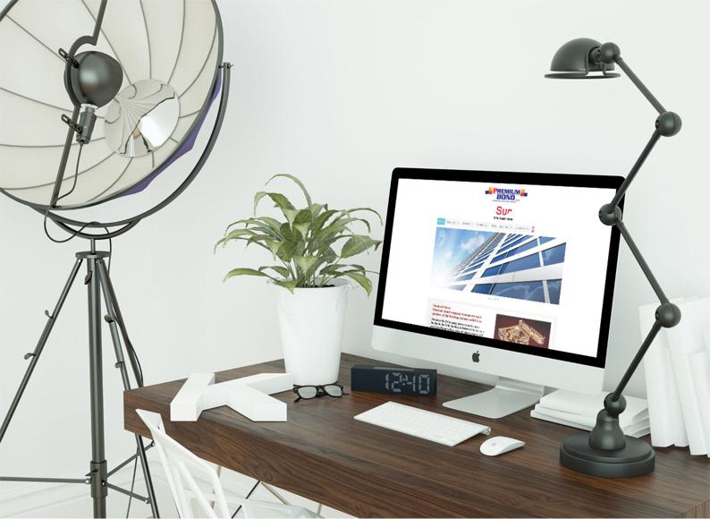 طراحی سایت شرکت premiumbond آمریکا